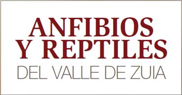 Anfibios y reptiles del Valle de Zuia